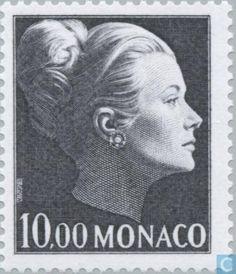 Monaco - Princess Grace stamp.