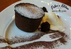 De Sf. Gheorghe, te așteptăm sa îți sărbătorești ziua onomastică la Peter's Kitchen și vei primi un desert gratuit!   Rezervari: 021.312.02.42/ 0747.810.473; contact@peterskitchen.ro Pudding, Desserts, Orice, Sf, Tailgate Desserts, Deserts, Custard Pudding, Puddings, Postres