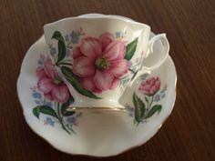 Royal Albert Malvern Shape  Pink Floral