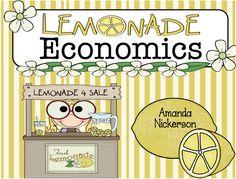 One Extra Degree: Lemonade Economics: Business for Kiddos!