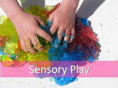 List of Sensory Play Ideas and Activities