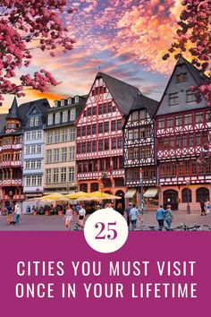 Check out these 25 beautiful cities you should definitely visit. Here are 25 amazing cities to add to your bucket list. Don't miss these stunning travel destinations. This list has only the best destinations to see at least once in your lifetime. |Amazing cities to add to your bucket list | Beautiful cities bucket list| #travel #cities #guide #wanderlust #beautifulcities #bucketlist #travelbucketlist #citiesbucketlist #topcities #mustseecities #stunningcities #mustseecities #mustvisistcities