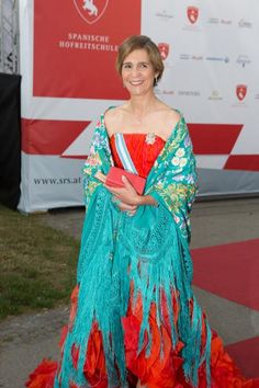 Infanta Elena of Spain attends the gala event 450 years Spanische Hofreitschule http://www.zimbio.com/pictures/Yu1FXcroKb1/Fete+Imperiale+2015/A2GXH0C_XJE…