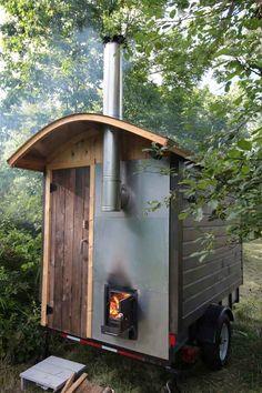 Mobile Saunas   Rob Licht Custom Saunas