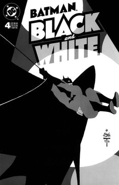 Batman: Black and White #4 cover by Alex Toth