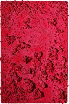 Yves Klein - Sponge Reliefs, Rose