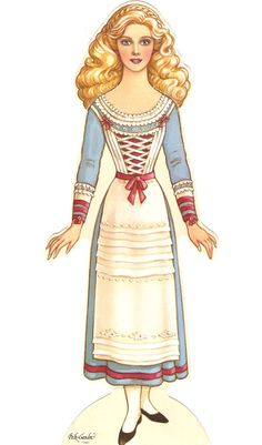 Miss Missy Paper Dolls: Cinderella Peck-Gandre