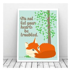 Your place to buy and sell all things handmade Bible Verse Art, Scripture Cards, Fox Art, Sympathy Cards, Background Images, Printable Art, Artsy, Wall Art, Prints