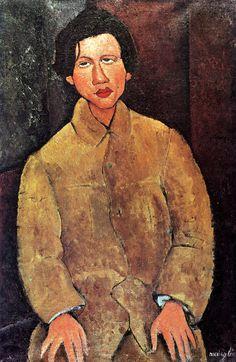 Amedeo Modigliani - Portrait de Chaïm Soutine