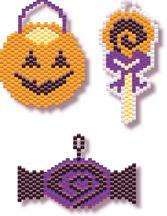Halloween Bead Candy Patterns at Sova-Enterprises.com