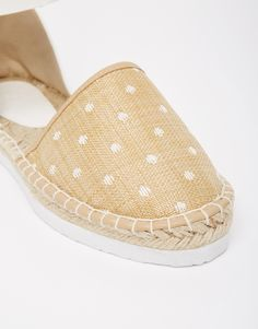Image 4 of ASOS JACKER Two Part Espadrilles