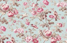 Elanbach Fabric, Treyford, In The Country Fabric Collection