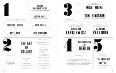 Editorial design and typography by Matt Willey