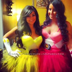Pretty DIY Power Ranger Costumes for Women... 2014 Halloween Costume Contest