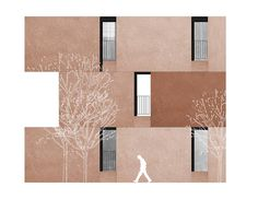 architecture elevation facade _ Chipperfield | housing