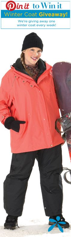 Win a FREE Winter Coat! Enter now until Jan 1st 2015. A winner every week! That's more then a dozen chances to win!