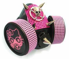 Hello Kitty Skull Cyber Gas Mask Respirator