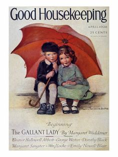 Vintage Magazine Covers - Cover Art from Old Magazines - Good Housekeeping