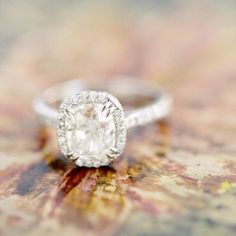 Interview with Reverie Founder Harrison Long - cushion cut with diamond halo engagement ring, wedding