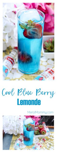Cool Blue Berry Lemonade
