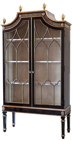 On Architectural Digest's March Most Wanted list is Ebanista's Saville Cabinet, available on Dering Hall