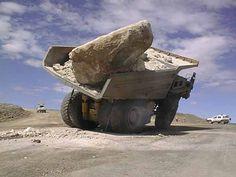 That's a big rock!