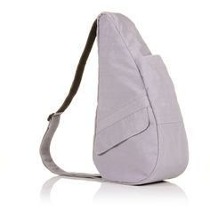 Textured Nylon Dusty Lilac S   The Healthy Back Bag