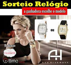 Sorteio de um lindo relógio da Ana Hickmann no Tempo Fashion, participe!