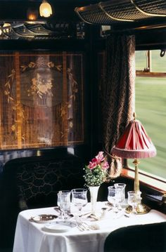 Orient Express - The Art Of Travel  the height of romantic luxury in a worldly kind of way