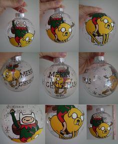 NCB - Christmas - Adventure Time Ornament