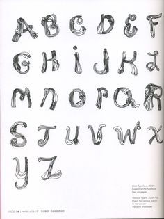 had job michael perry | Design Context: Hand Job A Catalog of Type - By Michael Perry