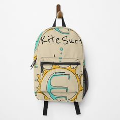 Kitesurfing, Sunnies, Fashion Backpack, Traveling By Yourself, Print Design, My Arts, Just For You, Backpacks, Art Prints