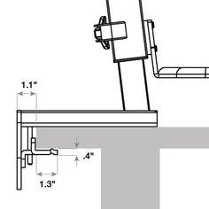 Ec 데일리 호랑이 아빠 노트북 테이블 Ikea 간단한 접이식 침대 모바일 홈 리프트 침대 옆 테이블