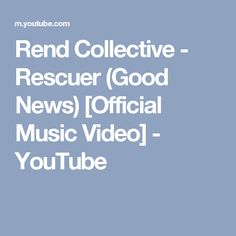 This is the joy I imagine in town on Lethbridge during night dancing. Rend Collective - Rescuer (Good News) [Official Music Video] - YouTube