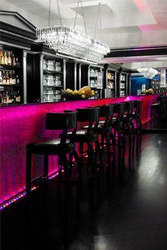 COCKTAIL BAR \Leons Place Hotel Bar, Rome