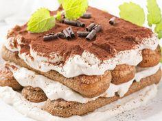 Tiramisu A coffee-flavoured custard dessert. Creme Tiramisu, Tiramisu Cake, Italian Tiramisu, Italian Ice, Lady Finger Cake Recipe, Italian Desserts, Italian Recipes, Easy Tiramisu Recipe, Cake Recipes