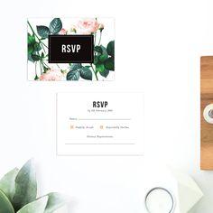 Modern Vintage Wedding Invitations Rose Pink peach Wedding Stationery australia perth sydney melbourne brisbane adelaide sail and swan