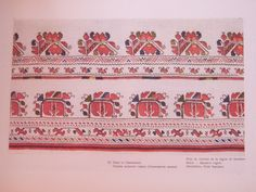 Bulgarian Embroidery: Skirts - Samokov Region Поли от Самоковско