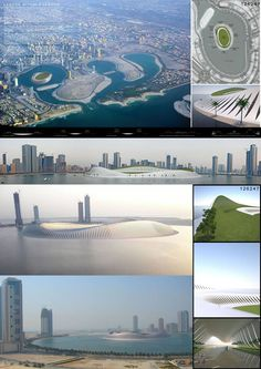 [A3N] : Water Village in Sharjah Competition 2012 ( Honorable Mention 01 : ) / Bernardo Castaneda Fernandez ( Mexico )