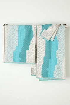 Sechura Towels  #anthropologie