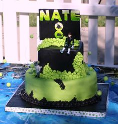 Ben 10 Birthday Cake by Butterfly Sweets