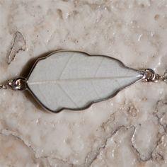 4 Seasons bracelet - Winter (silver/resin)  $110