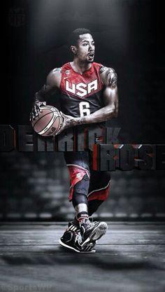 Basketball Wallpapers Quotes Derrick Rose Wallpaper More Things Nba Roses