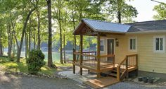 LaSota Cottage is tucked in the woods at the end of a cove - Huddleston cottage rental