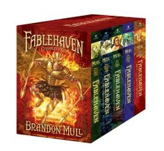 Fablehaven Complete Set (Boxed Set): Fablehaven; Rise of the Evening Star; Grip of the Shadow Plague; Secrets of the Dragon Sanctuary; Keys to the Demon Prison by Brandon Mull, http://www.amazon.com/dp/1442429771/ref=cm_sw_r_pi_dp_O-m.pb0JYNNKM