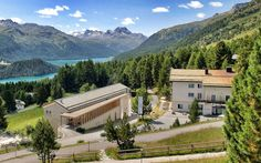 Berghotel Randolins St Moritz, Mountains, Mansions, House Styles, Nature, Travel, Decor, Stars, Naturaleza