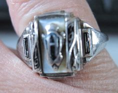 Vintage Sterling JOSTEN Class Ring 1979 by zoecatglitzanglamour