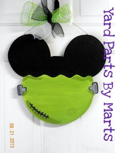 Mickey Halloween, Halloween Birthday, Holidays Halloween, Halloween Crafts, Halloween Decorations, Disney Holidays, Disney Diy, Disney Crafts, Mickey Ears