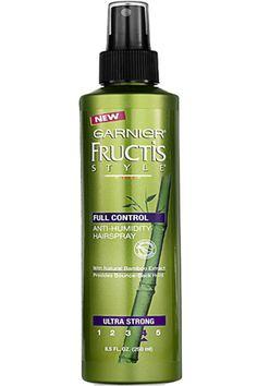 Hair Products - Garnier Fructis Style Anti-Humidity Hairspray - Oprah.com