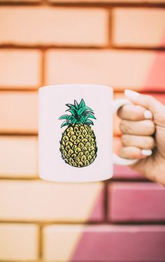 Cute pineapple mug!